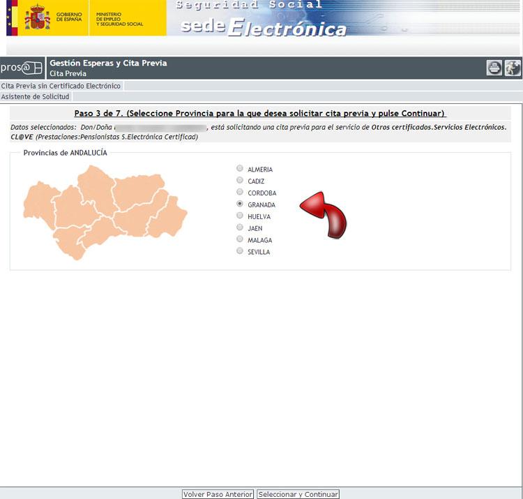 Cita previa seguridad social cita previa ss share the for Oficinas inss madrid