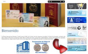 certificado electronico | pagina de la FNMT