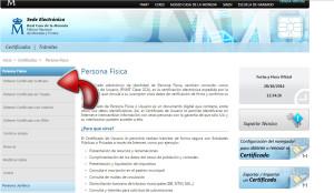 solicitar el certificado electronico