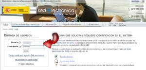Certificado INEM | autentificacion