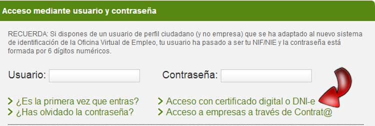 Sellar el paro en el sae guia cita previa for Sellar paro con certificado digital