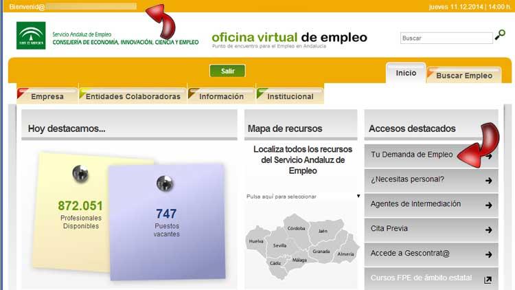 Virtual de empleo con las mejores colecciones for Oficina vertual de empleo